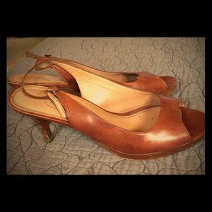 Talbot's Peep Toe Heels